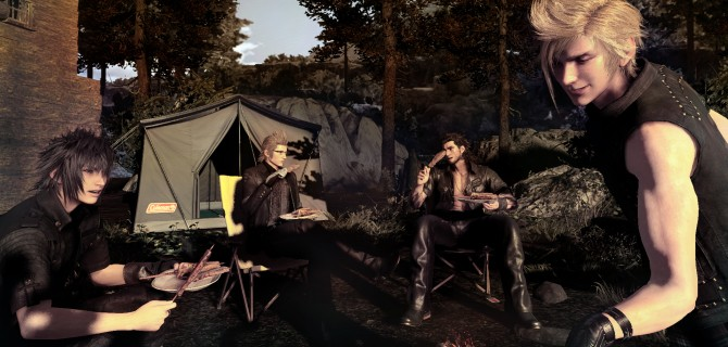 Final Fantasy XV - impresiones de Hermanos de armas y Monster of the Deep